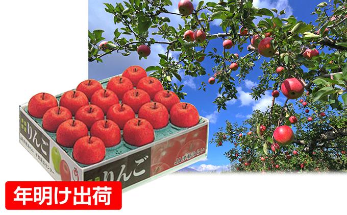 年明 糖度保証14度サンふじ約5kg贈答用(特A)青森県板柳町産