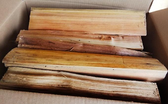 森と川の町 【那賀町】で育まれた木頭杉の薪