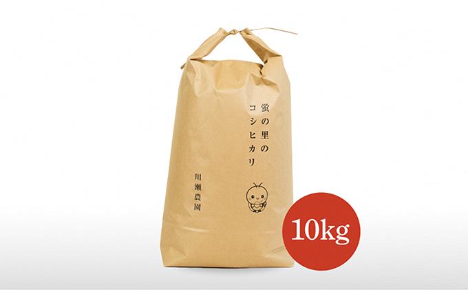 蛍の里のコシヒカリ 10kg
