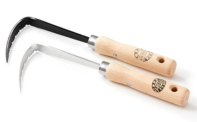 草刈り鎌セットE(草取カギカマ右手用1本・ステンレスカギカマ1本)