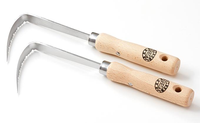 草刈り鎌セットF(ステンレスカギカマ2本)