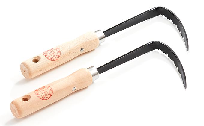 草刈り鎌セットH(草取カギカマ左手用2本)
