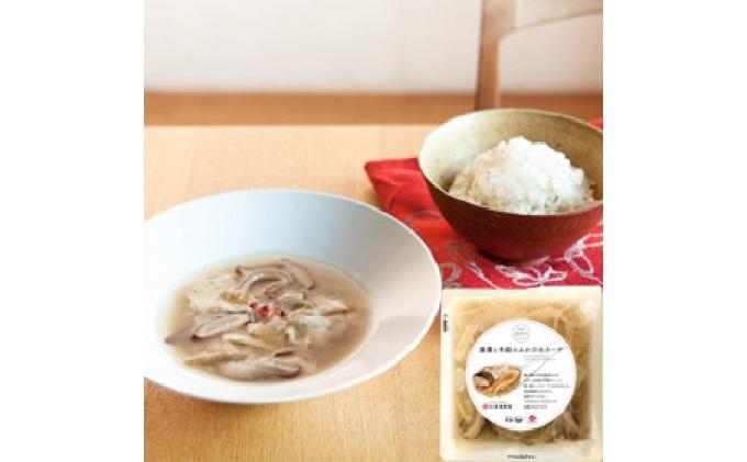 湯葉とどんこ(どんこ)のふかひれスープ4袋セット