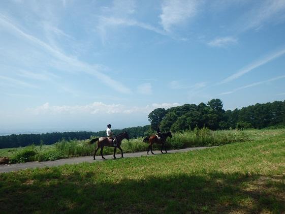 まきば軽井沢 まったり100分乗馬体験 1名様 長野 信州 小諸 大自然