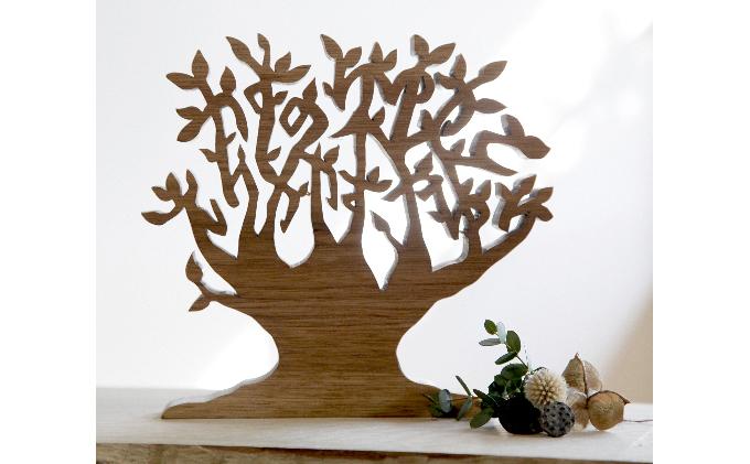 家族の名前が木になるお名前ツリー オーダーメイドお名前入り プレミアムお名前ツリー