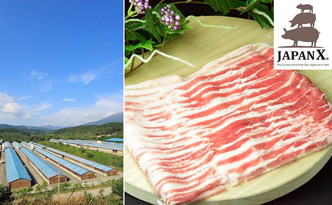 牧場直送JAPAN X 豚バラ2mmスライ