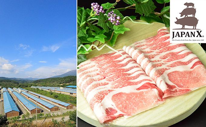 牧場直送JAPAN X 豚ロース2mmスライス/計1.5kg