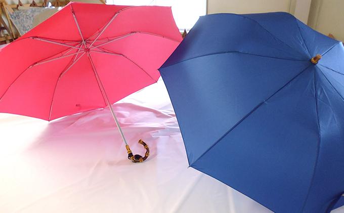 【西川洋傘加工所】 高級婦人折傘(共袋付)