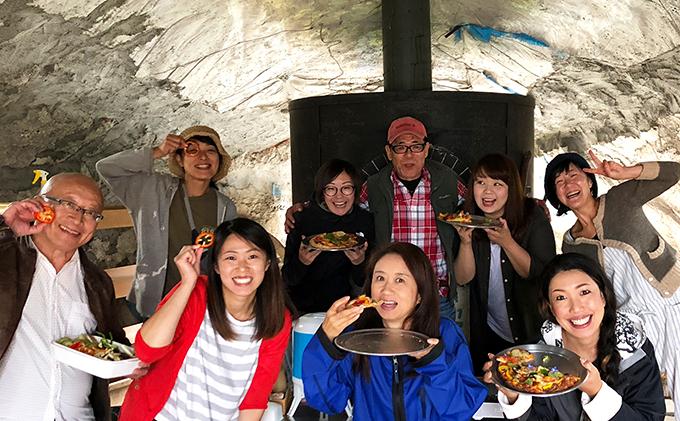 北海道倶知安町のふるさと納税 新鮮オーガニック野菜でピザ作り体験