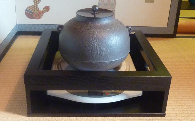鎌田工芸社のIH用置炉掻合