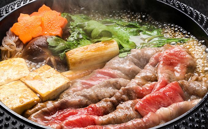 北海道木古内町のふるさと納税 はこだて和牛(ステーキ&すき焼き用)計850g