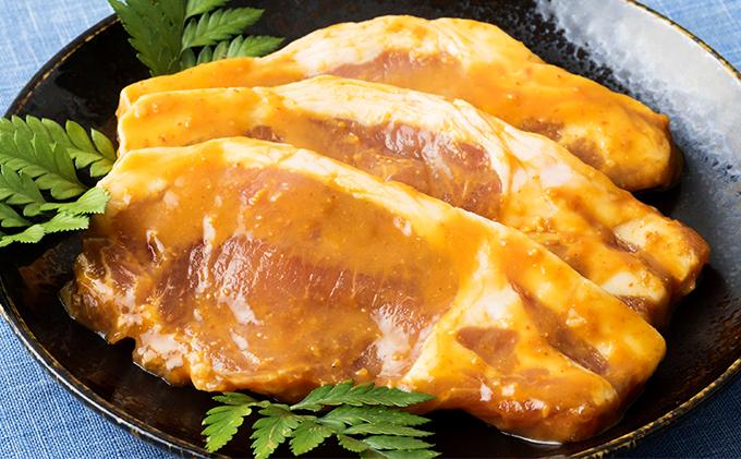 メインのおかずに!伊勢原・高橋肉店の特製豚漬け7枚セット