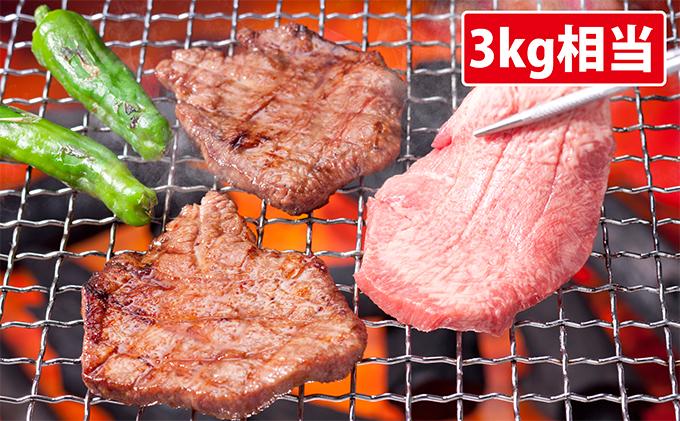 厚切り牛タン 焼肉用 3kg相当