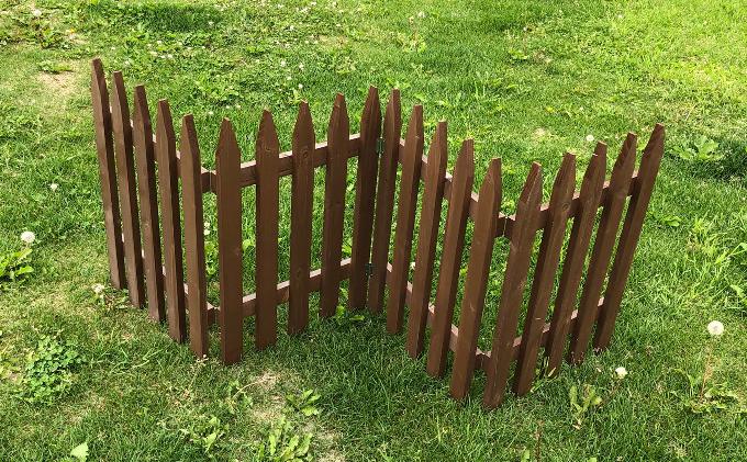 北海道標茶町のふるさと納税 不二木材 木製フェンス フリーレイ 大