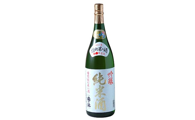 清酒 鶴の池 雄町 純米吟醸 1.8リットル