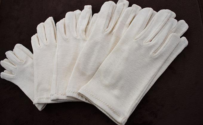 自然の肌触りオーガニックコットン手袋(1双)