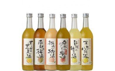 V6143_和歌のめぐみ酒【C】セット 720ml瓶 6種(A003)