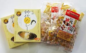 秋田神代カレーセット