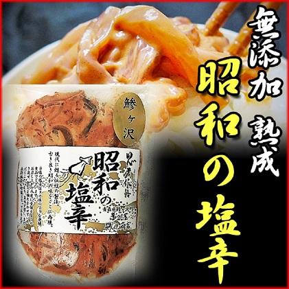 青森県鰺ヶ沢町 無添加・熟成 酵母の力が活きた昭和の塩辛(イカ塩辛) エコパック100g×3袋セット ※お申込みから3ヶ月以内の発送になります。 青森 いか イカ いか塩辛 パック