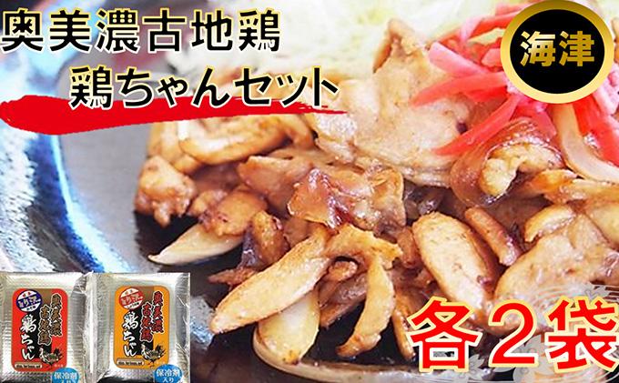 奥美濃古地鶏 鶏ちゃんセット(海津)