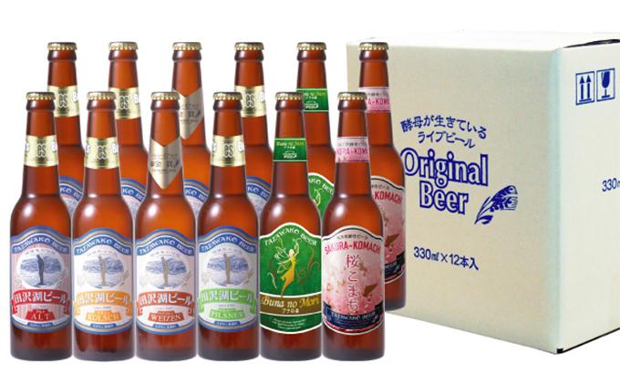 田沢湖ビール6種飲み比べ 12本セット【B】