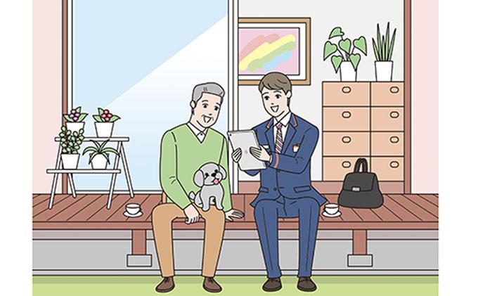静岡県御前崎市のふるさと納税 みまもり訪問サービス(12か月)