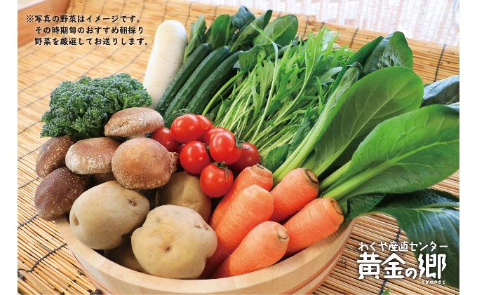 黄金の郷 季節のお野菜お楽しみBセット