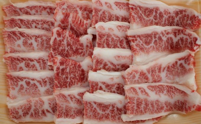 九州ファーム朝倉牛 牛カルビ焼肉用 500g