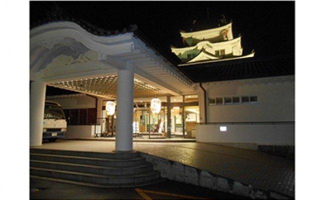 和歌山県湯浅町のふるさと納税 Q6004_湯浅温泉 湯浅城 B会席(2名様ペア)1泊2食プラン