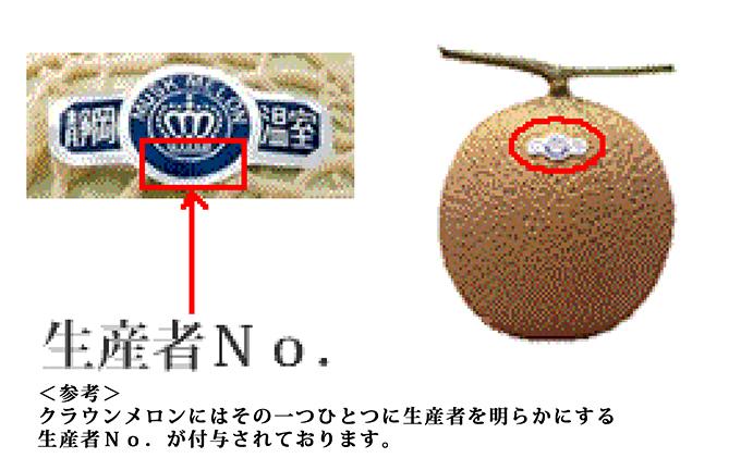 静岡県浜松市のふるさと納税 クラウンメロン 白級(1.3kg)1玉