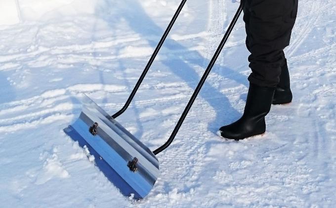 軽量アルミ除雪用具「カルオス君」80cm