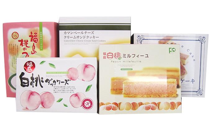 桃のお菓子とおすすめお菓子の詰め合わせ 5種