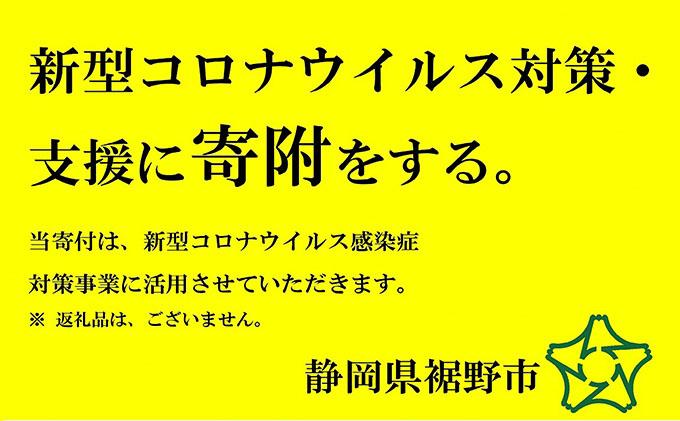 新型コロナウイルス対策・支援に寄附をする(10万円)