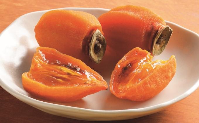 あんぽ柿(平核無柿:ヒラタネナシカキ)