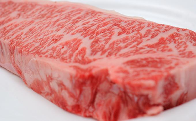 静岡県浜松市のふるさと納税 峯野牛サーロインステーキ(250g×3枚) 化粧箱入り
