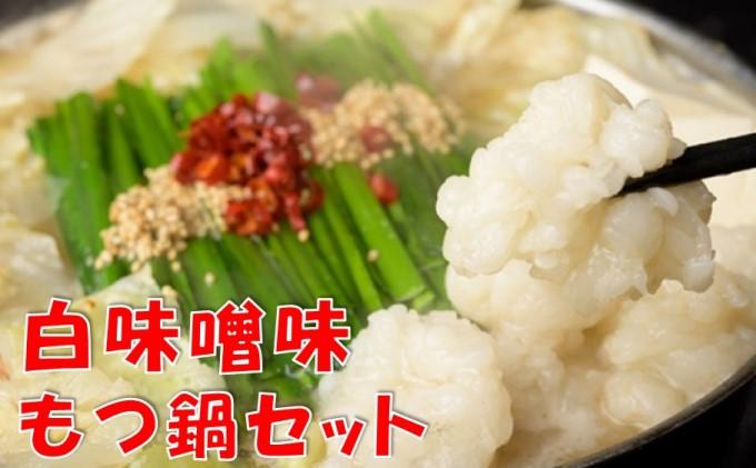 もつ鍋セット白味噌味(2~3人前)