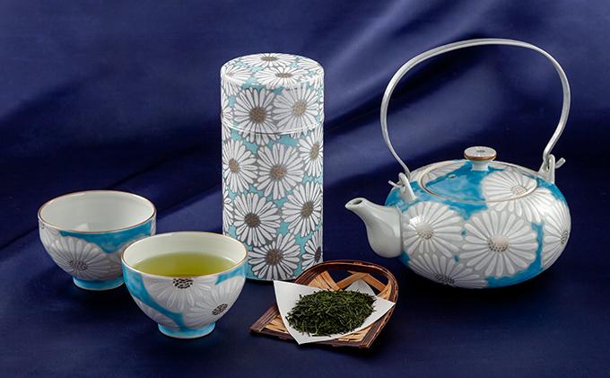 清水焼白菊茶器セット