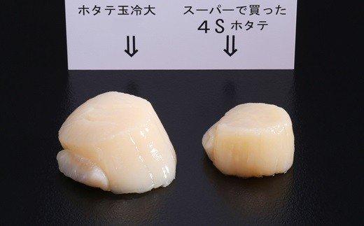 北海道紋別市のふるさと納税 10-68 オホーツク産ホタテ玉冷大(1kg)