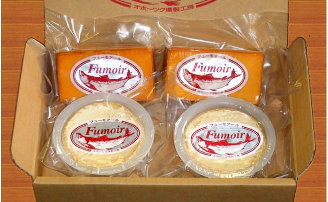 11-35 無添加・北海道産ナチュラルチーズ・スモークセット