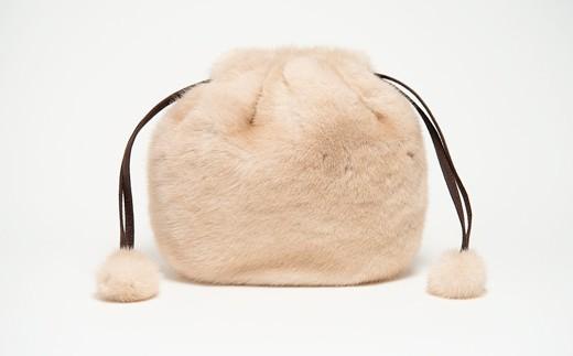 300-3 ミンク巾着(パロミノ)