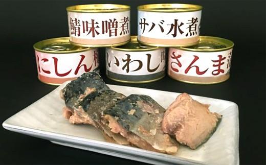9-3 栄養満点!人気のお魚缶詰セット