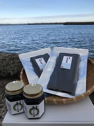 豊島産 初摘み板海苔&豊島産 海苔つくだ煮セット