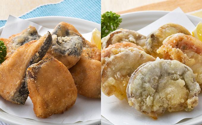 北隆丸 海鮮ザンギ2種(鮭500g・ホタテ500g)