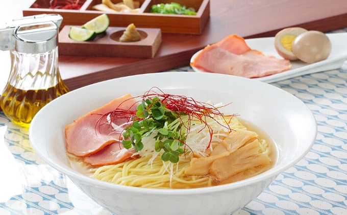 小豆島美味しくて5麺(ごめん)!オリーブラーメン塩スープ5本セット