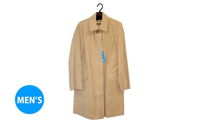 武櫬衣スプリングコート 男性用 ベージュ フリーサイズ