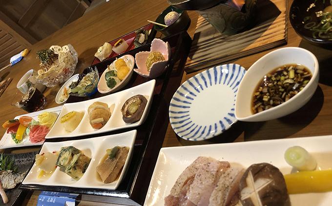 徳島県那賀町のふるさと納税 花瀬庵 ペア お食事券「ディナー」