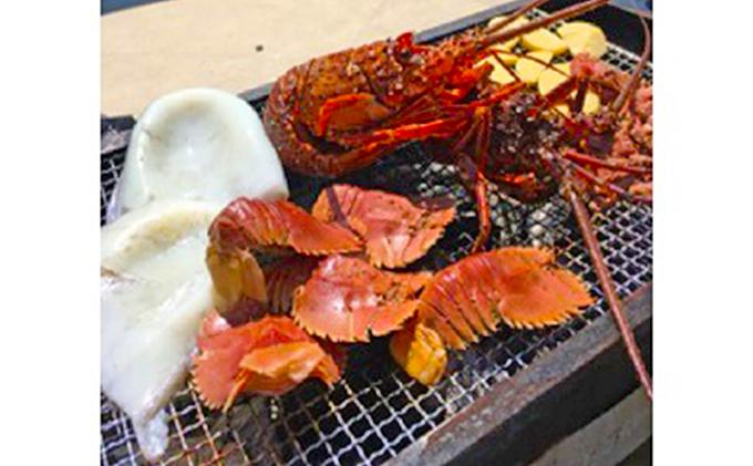 漁師の海鮮BBQ「A」セット(約10人前)
