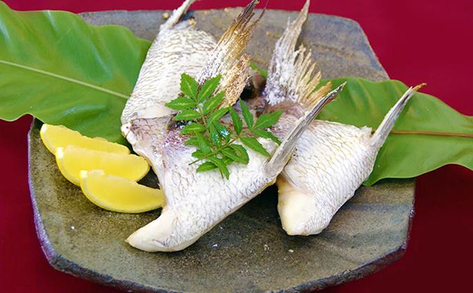ゆら鯛釜飯・鯛カマセット