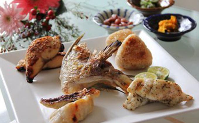 真鯛の焼き物セット