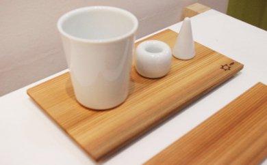 Sugi Oshibori plate 3枚セット